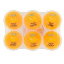 UU Cocon Mango Nata Decoco Pudding 6 Cups x 80g