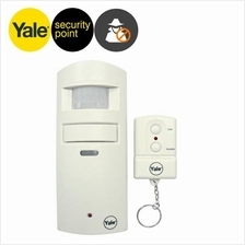 YALE 130dB Wirefree Single Room Alarm with remote control
