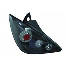 Nissan Latio `08 5D Tail Lamp Crystal LED Black [NS61-RL01-U]