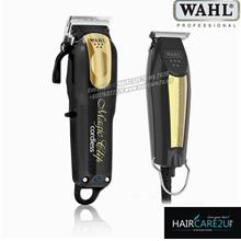 Wahl 5 Star Black Gold Magic Clip Cordless Clipper and Detailer Combo