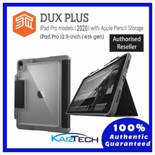 Original STM Dux Plus Duo - iPad Pro 12.9 4th Gen 2020 with Apple Penc