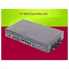 4-Way HDMI 2x2 Video TV Wall Controller USB VGA
