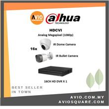 Dahua AVIO 1080P C2MP C 2MP MegaPixel CCTV 16 ch channel Full HD Package