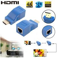 HIGH QUALITY HDMI Extender 30 Meters To Hdmi HD Network RJ45 Amplifica