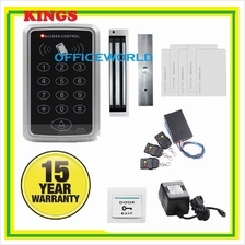 SUPER 6 IN 1  LOCK DOOR ACCESS RFID HEAVYDUTY ( 2 YEARS WARRANTY )