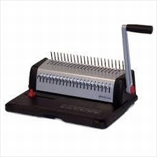 COMB BINDING MACHINE HEAVYDUTY METAL (2 YEARS WARRANTY )