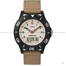 TIMEX TW4B16800 (M) Expedition Katmai Combo Ana-Digi Fabric Strap Sand