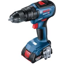 Bosch GSB 18V-50 Cordless Brushless Impact Drill Kit (with 2 Batteries + 1 Cha