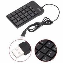 Fantech USB 2.0 Numeric Number Keypad Keyboard pad Notebook Laptop