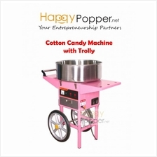 HAPPYPOPPER-COTTON CANDY WITH TROLLY