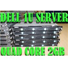 DELL F1D 1U Rack server , QUAD CORE~