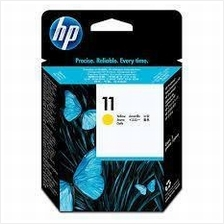 HP 11 Yellow Ink (Genuine) C4838A InkJet 1000 1200 2200 1700 K850