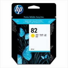 HP 82 69ml Yellow Ink (Genuine) C4913A 800 800PS 500 500ps