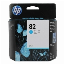 HP 82 69ml Cyan Ink (Genuine) C4911A 800 800PS 500 500 Plus