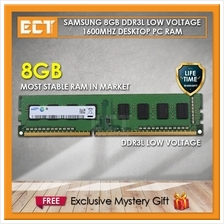 Samsung 8GB DDR3L PC3-12800U 1600Mhz Low Voltage Desktop PC Ram