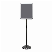A3 Display Stand Adjustable Height Round Corner Easy Snap Frame Poster
