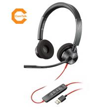 Plantronics Blackwire BW3320-M USB-A Wired Stereo Headset