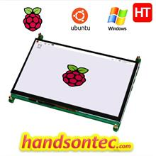 "7"" 1024×600 Capacitive Touch TFT Panel for Raspberry Pi"