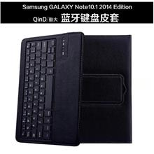 QinD Samsung Galaxy Note 10.1 2014 P600 P601 Bluetooth Keyboard Case