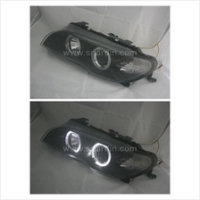 BMW E46 03-05 2 Door Projector Headlamp w Ring
