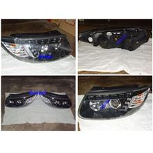 HYUNDAI SANTA FE Projector Head Lamp  [AUDI Q7 LOOK LED DRL]