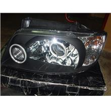 Hyundai Matrix Projector 2-CCFL Head Lamp [Black Housing]