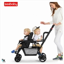 Seebaby Brother Double Twins Baby Stroller (1 month pre-order)