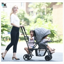 Q8 Twins Double Kids Stroller Can Sit/Lying/Stand (1 month pre-order)