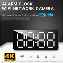 H16 4K HD WiFi Alarm clock WiFi network cam angle nightvision remote