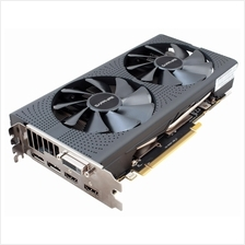 SAPPHIRE RX 580 8GB RX580 GDDR5 256BIT PULSE OC UEFI With BackPlate Graphic Ca