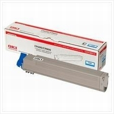 OKI Genuine C9600 / C9650 / C9800 Cyan Cartridge (42918919) 9600
