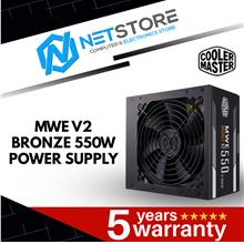 COOLER MASTER MWE BRONZE V2 550W POWER SUPPLY - MPE-5501-ACABW-BUK