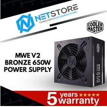 COOLER MASTER MWE BRONZE V2 650W POWER SUPPLY - MPE-6501-ACABW-BUK