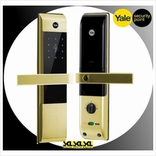 Yale YDM 3109 Card Acess Pin Code Digital Mortise Lock with Keys- Gold