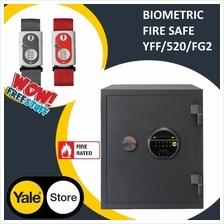 Yale YFF/520/FG2 Premium Large Biometric Fingerprints Fire Safe