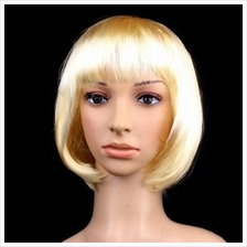 Cosplay bobo color hair wig/gold/ ready stock/ rambut palsu/
