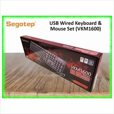 Segotep Wired Keyboard  & Mouse Combo Set (VKM1600)