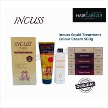 Incuss Squid Ink Hair Treatment Color Dye Cream