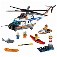 free shipping LEGO City Coast Guard Heavy-Duty Rescue Helicopter 60166 Buildin
