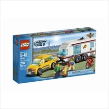 free shipping LEGO City Town Car and Caravan 4435