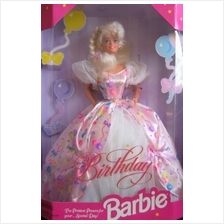 ..// Birthday BARBIE Doll The Prettiest Present For Your...Special Day! (1996)