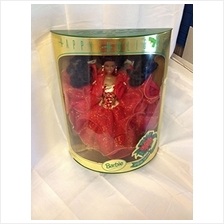 ..// Mattel Barbie 1993 Happy Holidays African American Barbie Doll: Special E