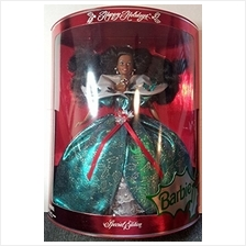 ..// Special Edition Happy Holidays 1995 Barbie African American