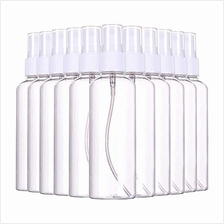 ..// (48 PCS) 3.4oz/ 100ml Plastic Clear Spray Bottles,Refillable Fine Mist Sp