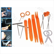 12Pcs Car Door Clip Panel Trim Dash Audio Removal Pry Tools (TDR12)