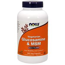 (FROM USA) NOW Supplements, Glucosamine  & MSM (GreenGrown Glucosamine), Veget