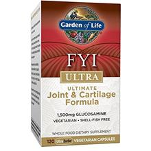 (FROM USA) Garden of Life Glucosamine Supplement - FYI ULTRA for Joint and Car