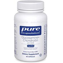 (FROM USA) Pure Encapsulations - Glucosamine + Chondroitin with MSM - Healthy