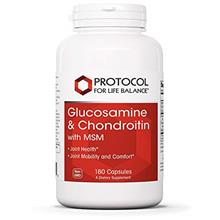 (FROM USA) Protocol For Life Balance - Glucosamine and Chondroitin with MSM -