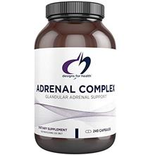 (FROM USA) Designs for Health - Adrenal Complex, 240 Vegetarian Capsules